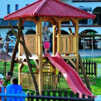 plac zabaw w malutkie resort