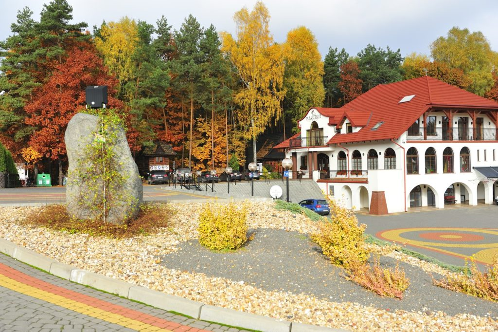 Malutkie Resort Jesienią