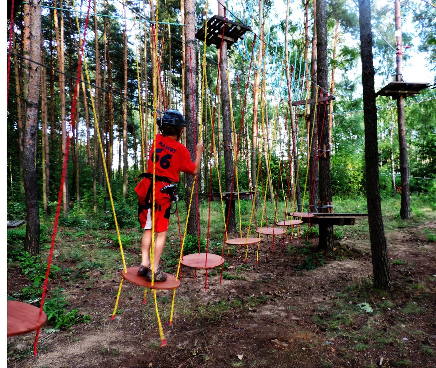 park linowy radomsko