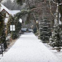 malutkie resort zimą