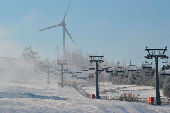 góra kamieńsk centrum narciarskie - atrakcje turystyczne łódzkie