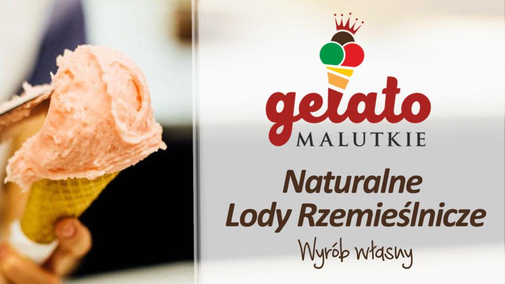 Naturalne lody włoskie, wyrabiane metodą rzemieślniczą.