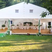 wesele plenerowe w namiocie namiot na wesele Radomsko Łódzkie (1)